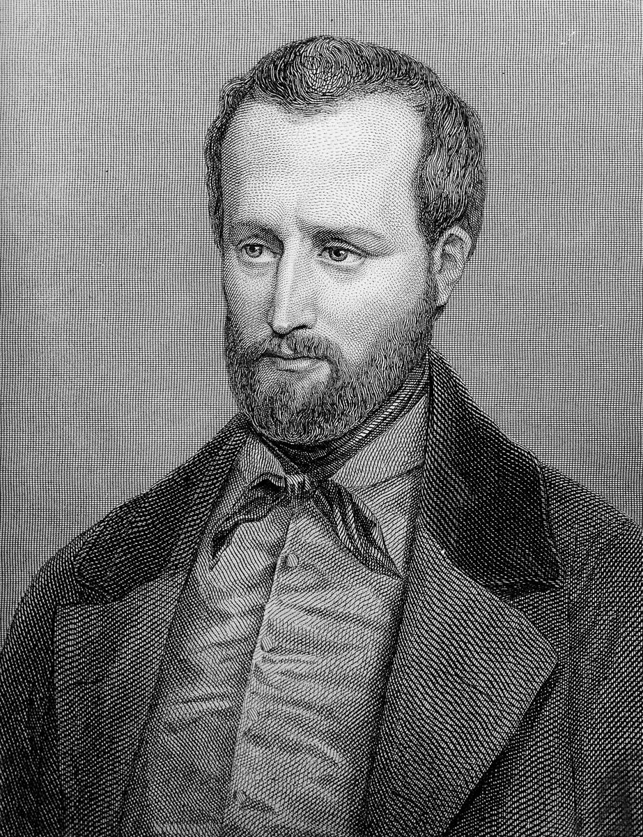 Louis Auguste Blanqui (1805-1881), théoricien socialiste et homme politique français.