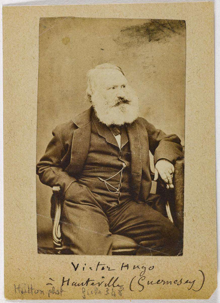 """""""Victor Hugo à Guernesey""""."""
