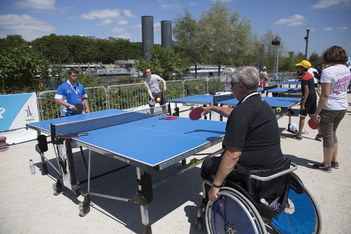 Handisport tennis de table