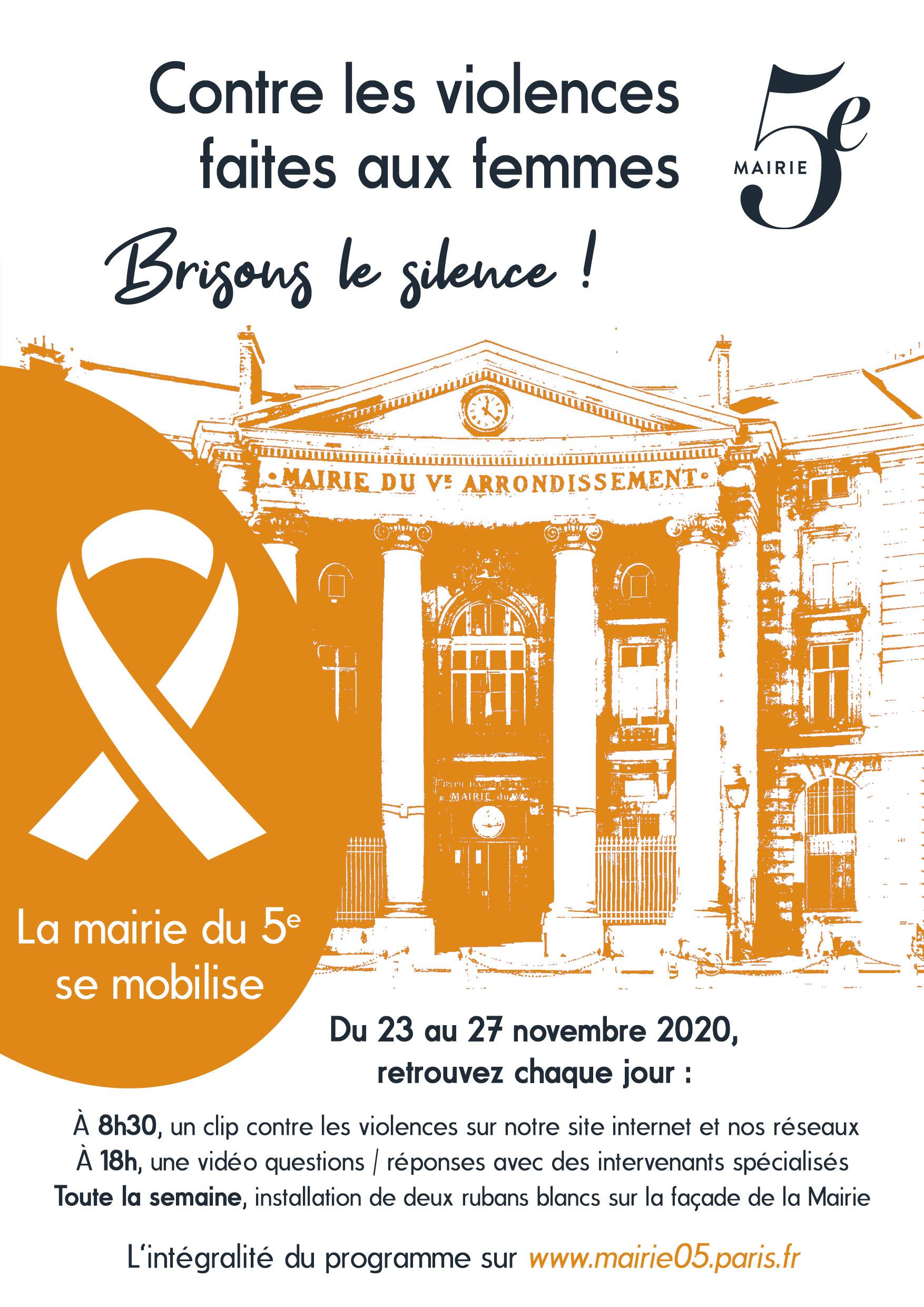 Affiche A3 contre violences femmes
