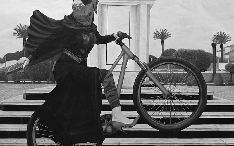 Bicyclette de Duaa Qishta