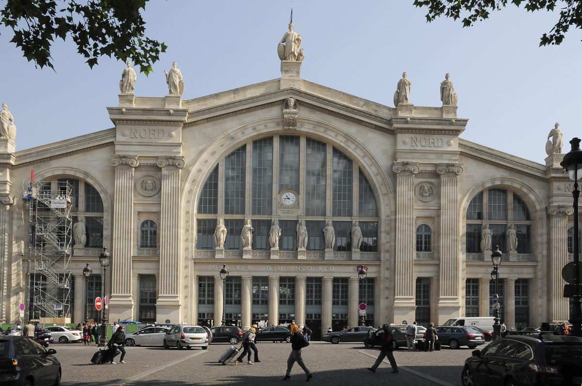 Aménagements du Parvis de la Gare du Nord terminés