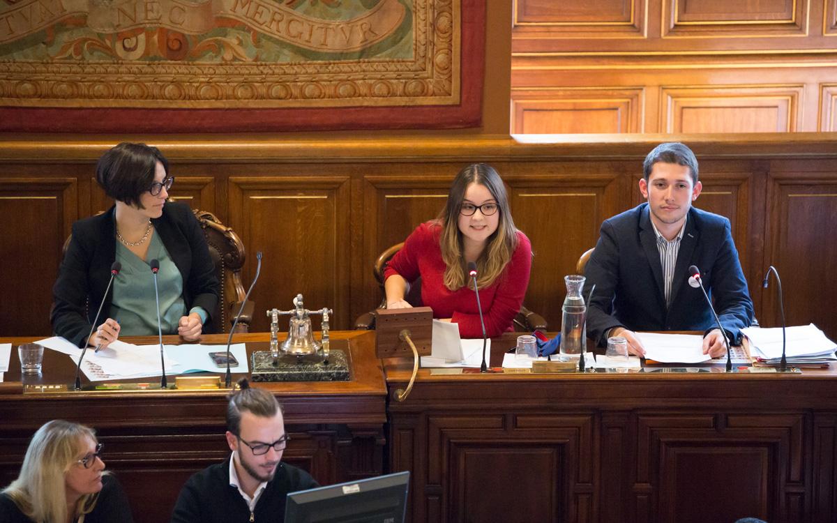 Conseil Parisien de la Jeunesse promotion Simone Veil