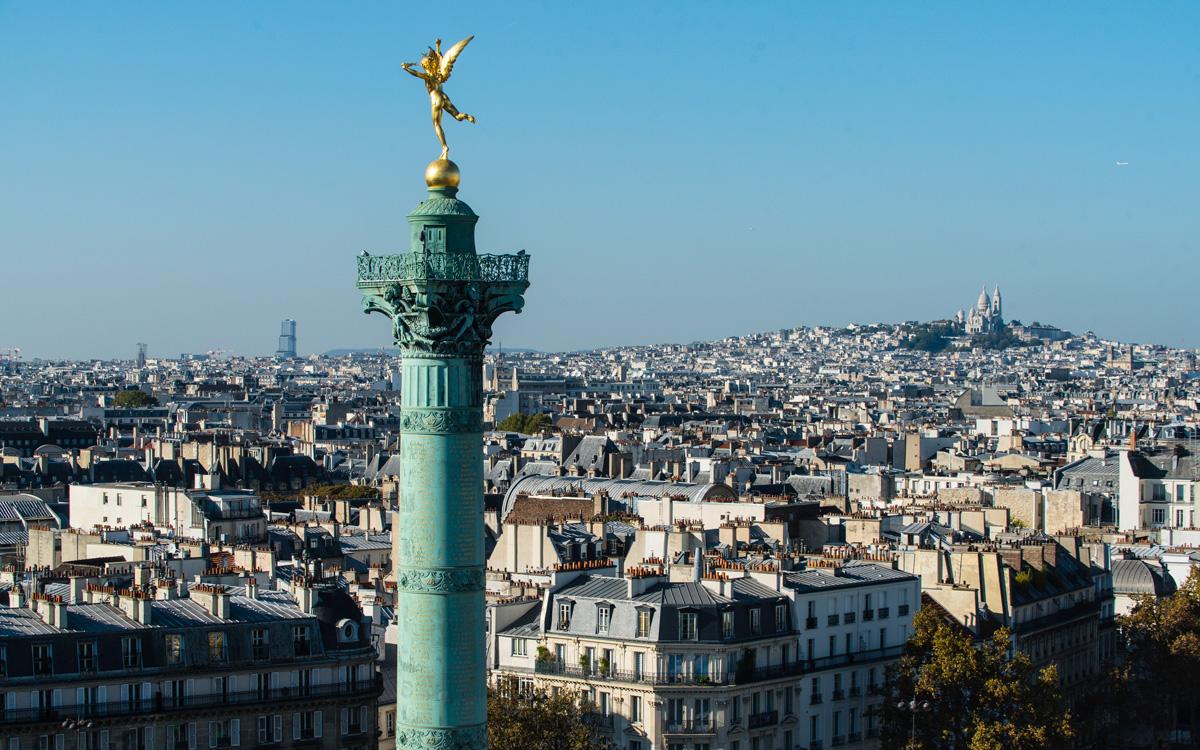 Colonne de Juillet de la place de la Bastille