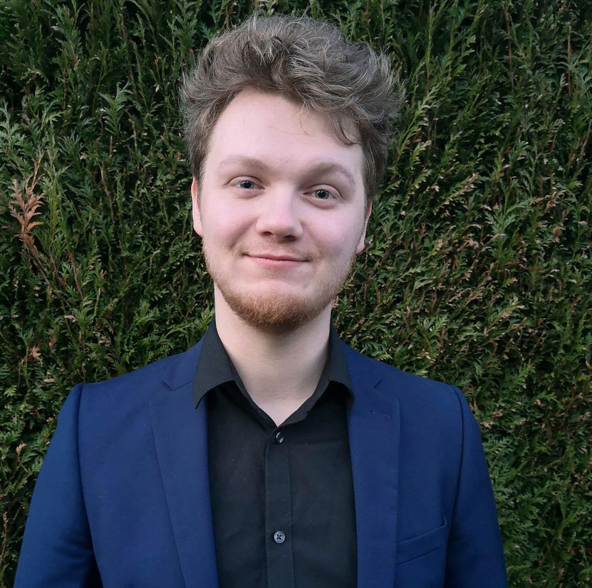 Kévin Moison, membre du Conseil parisien de la jeunesse