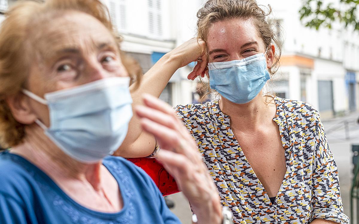 Aides soutien à domicile - Ville de Paris