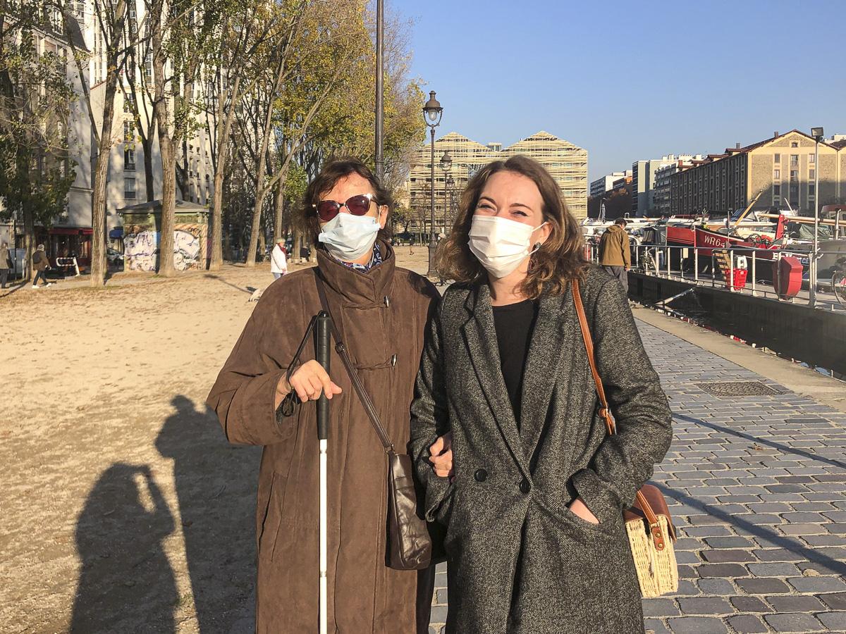 Léa et Chantal, Paris en compagnie