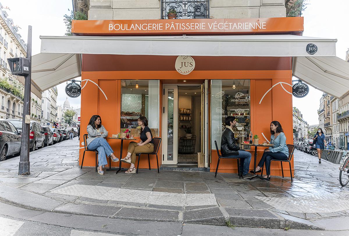 La boutique JUS Boulangerie, patisserie végétarienne