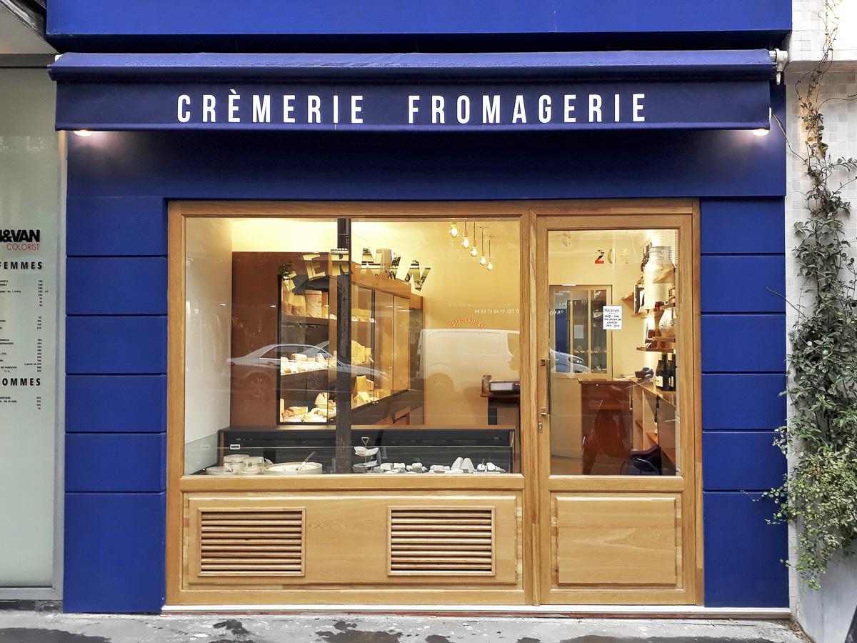 La boutique Fernin, crémerie fromagerie