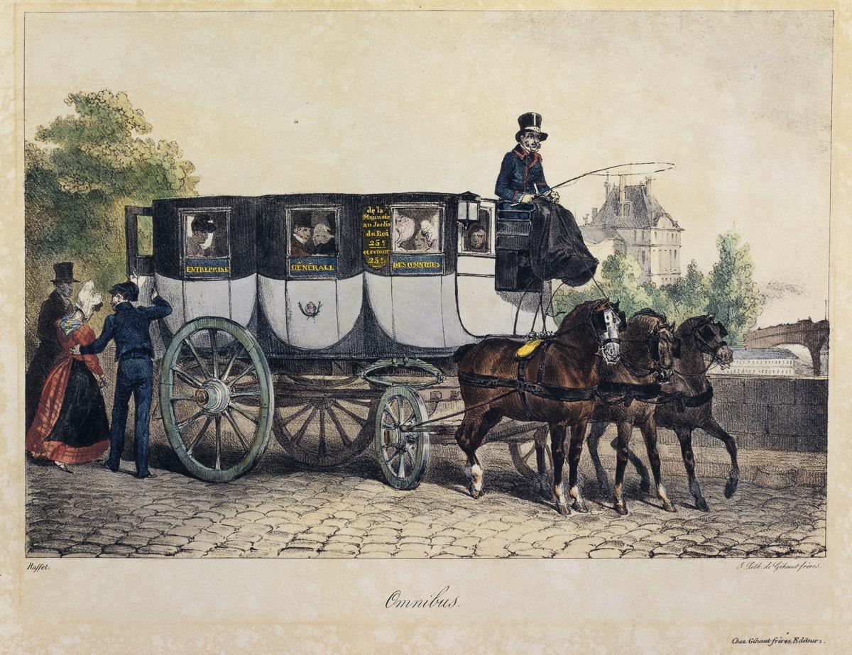 Omnibus vers 1830