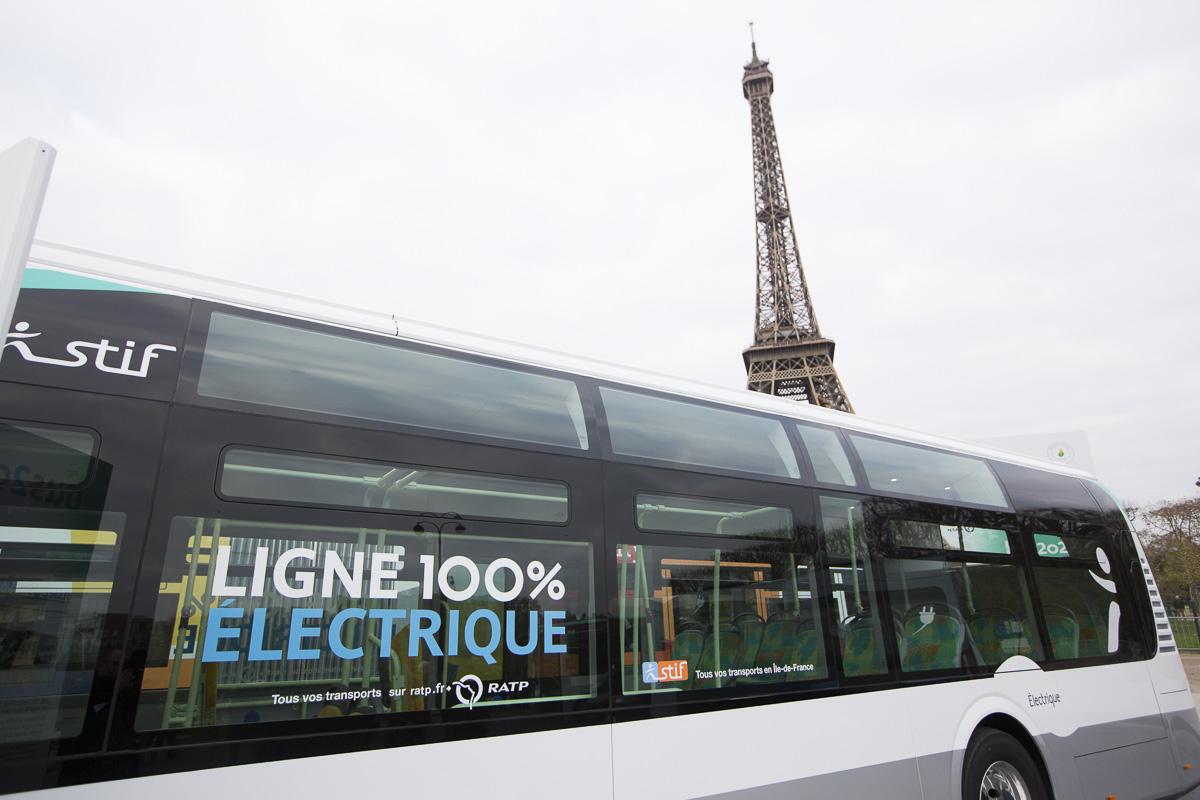 Autobus électrique de la RATP