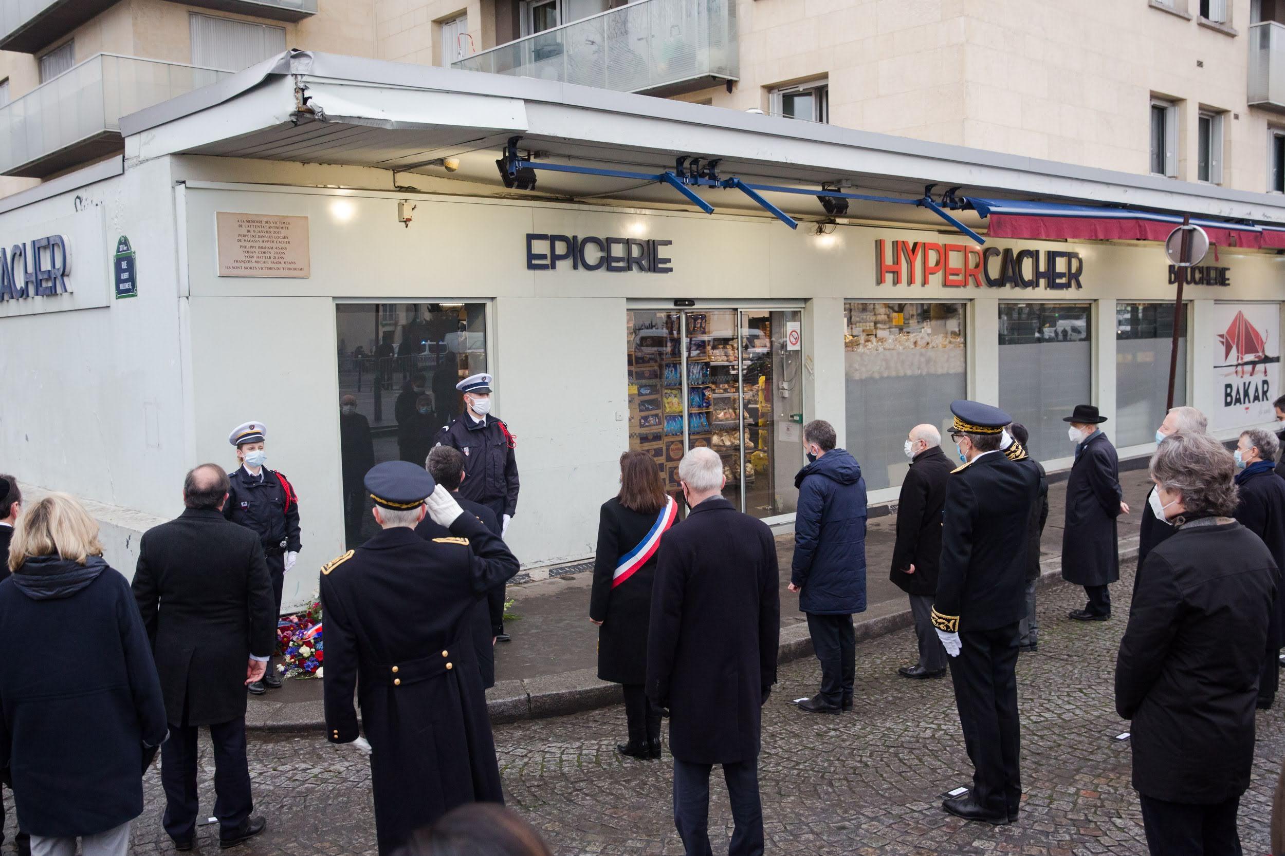 Commémorations des attentats de janvier 2015