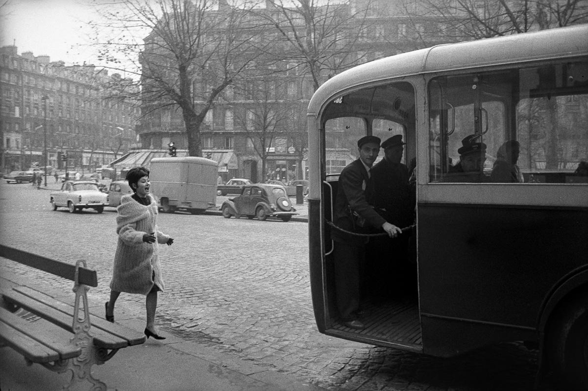 Mode. Paris, novembre 1960.
