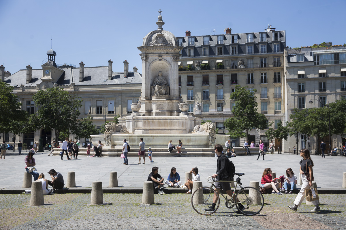 L'imposante fontaine Saint-Sulpice