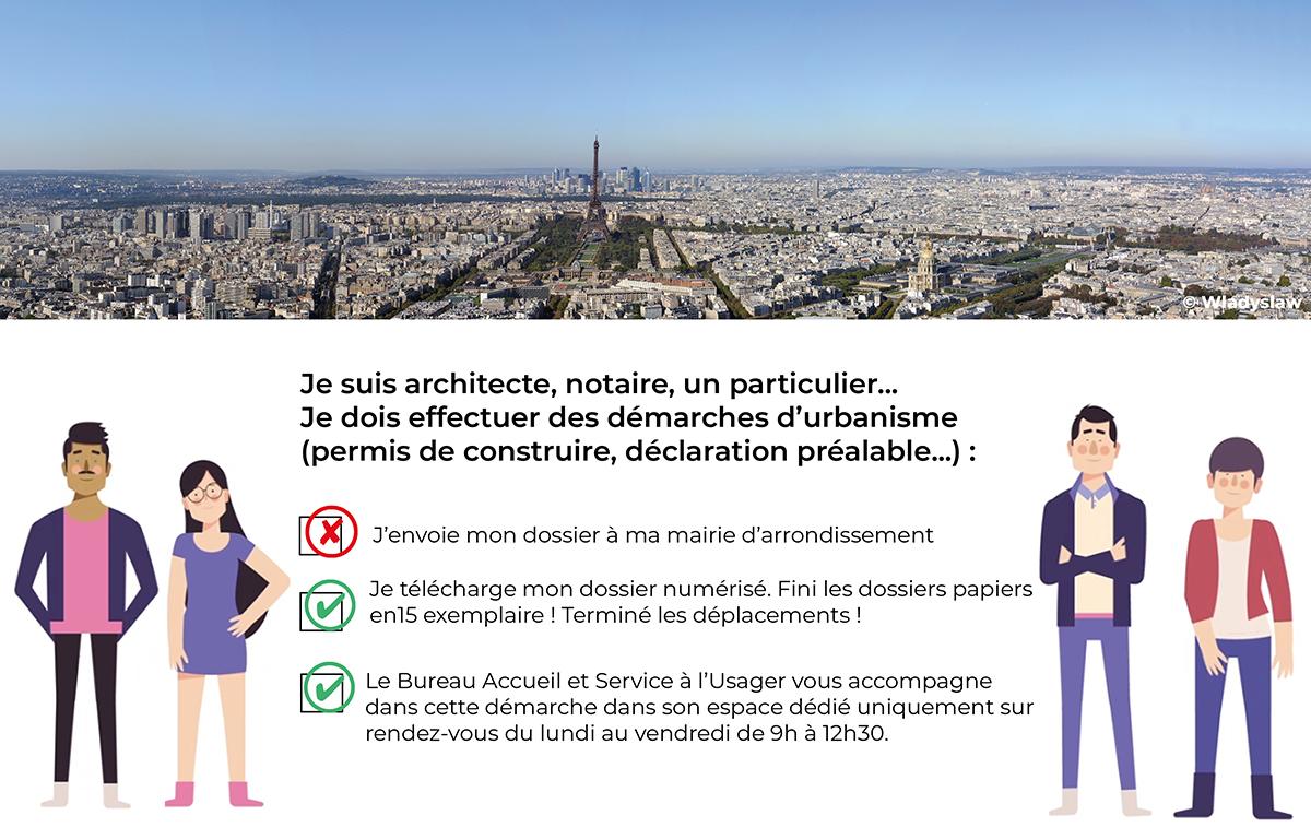 Je suis architecte, notaire, unparticulier. Je dois effectuer des démarches d'urbanisme (permis de construire, déclaration préalable, etc.). Ces démarches sont désormais dématérialisées.