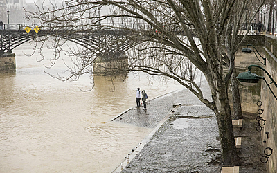 Crue de la Seine le 24 janvier