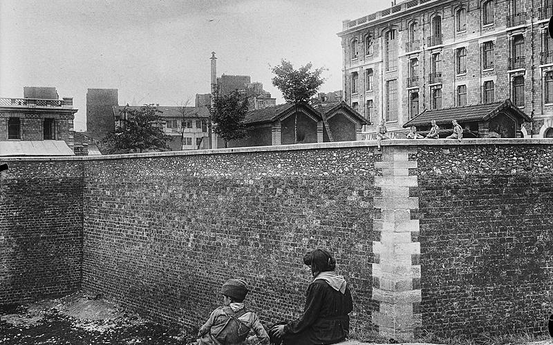 Anciennes fortifications de l'enceinte de Thièrs.