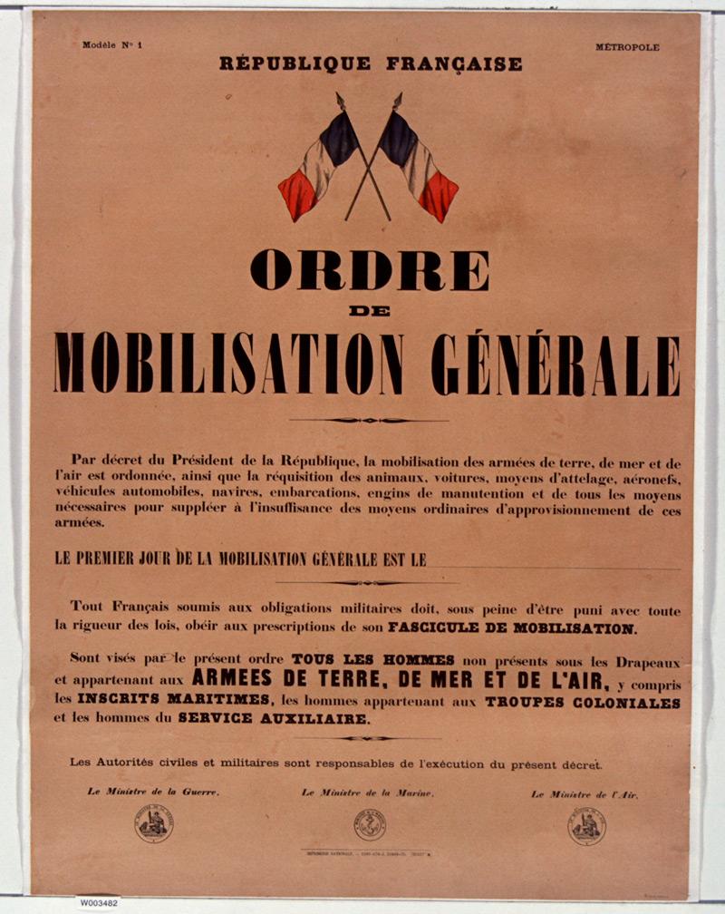 affiche souvenir français