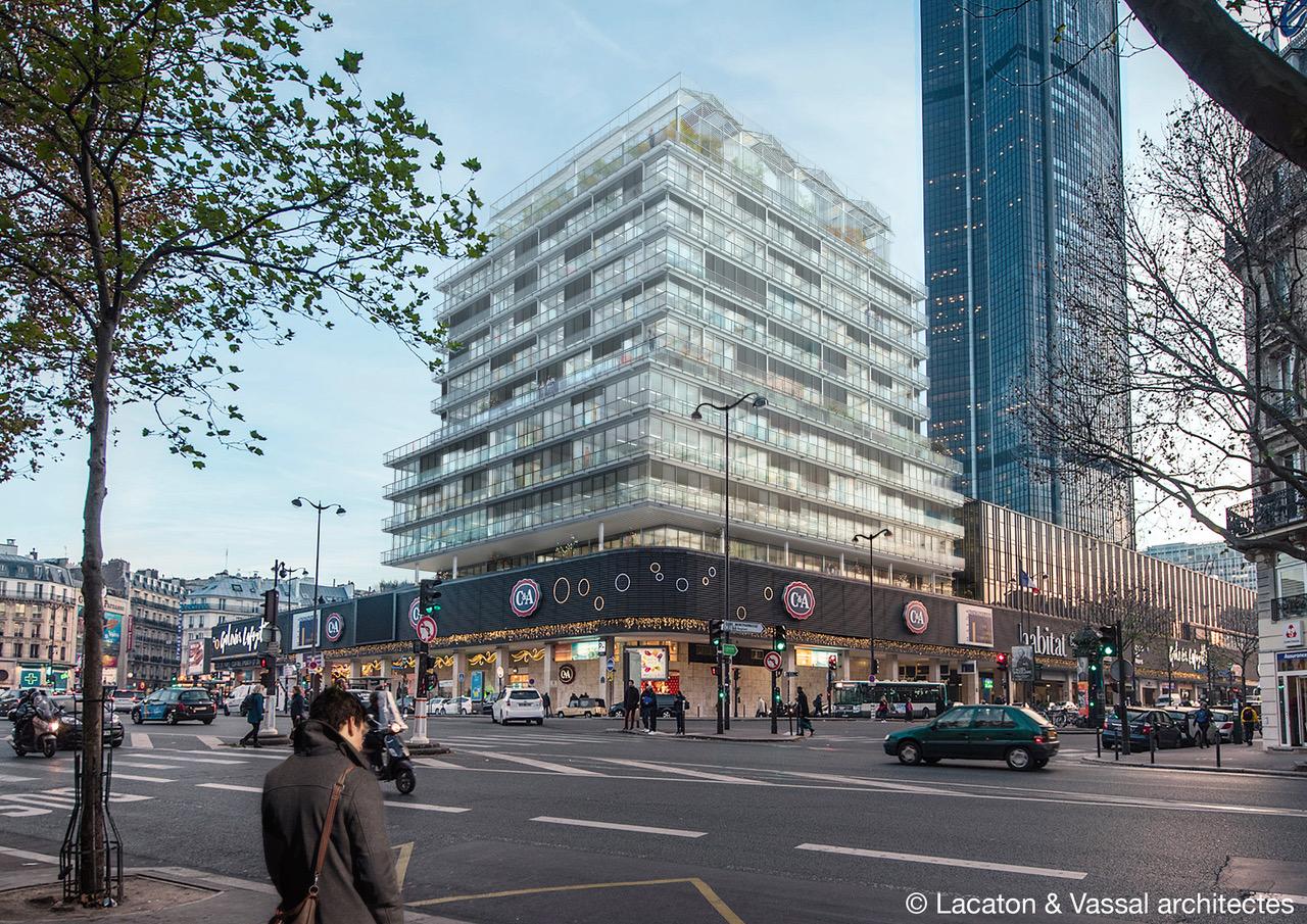 Immeuble CIT Montparnasse