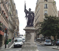 Statut de Jeanne d'Arc dans le 13e