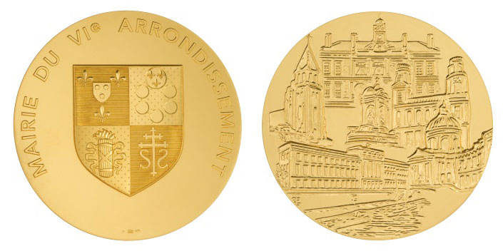 médaille 6e