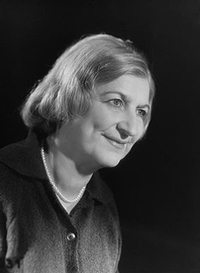 Portrait de Clara Malraux
