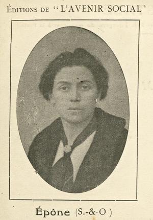 portrait d'Hélène Brion