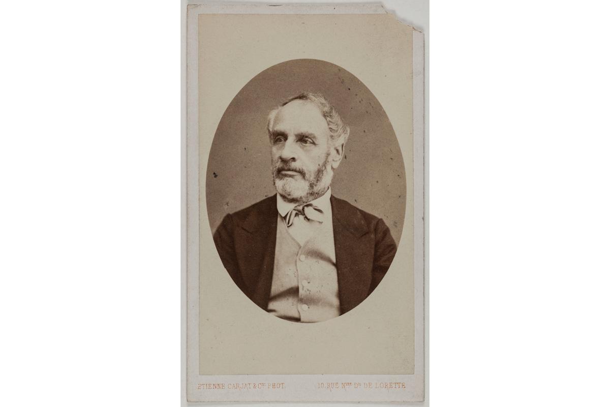 Portrait de Delescluze Louis Charles, (1809-1871), publiciste, membre de la commune.
