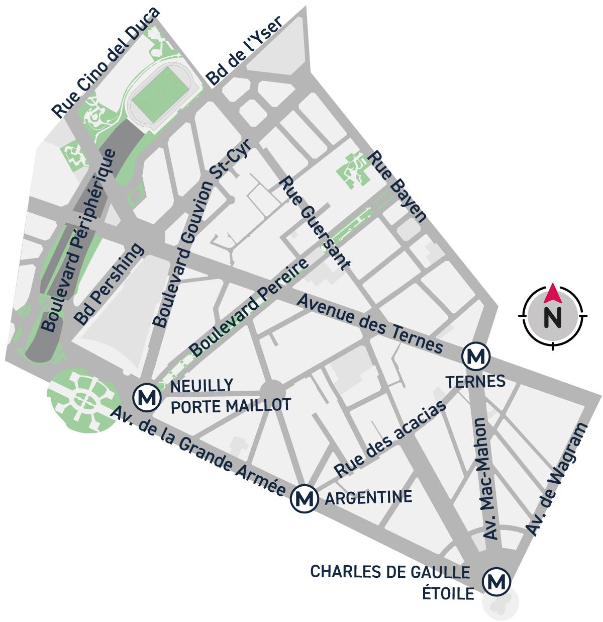 Plan démarche Quartier17e Ternes Maillot