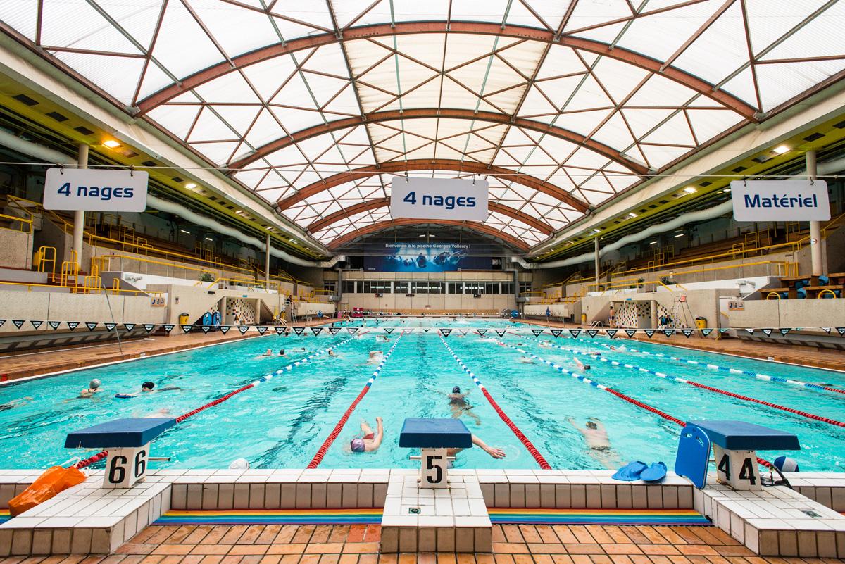 La piscine Georges Vallerey