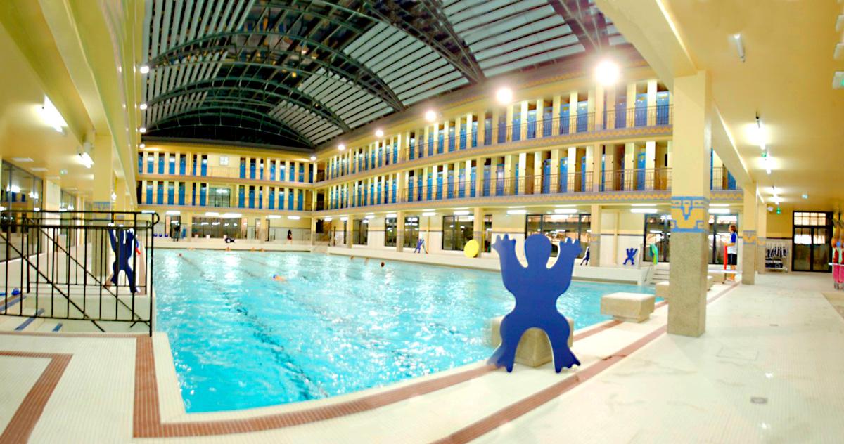 La piscine Pailleron