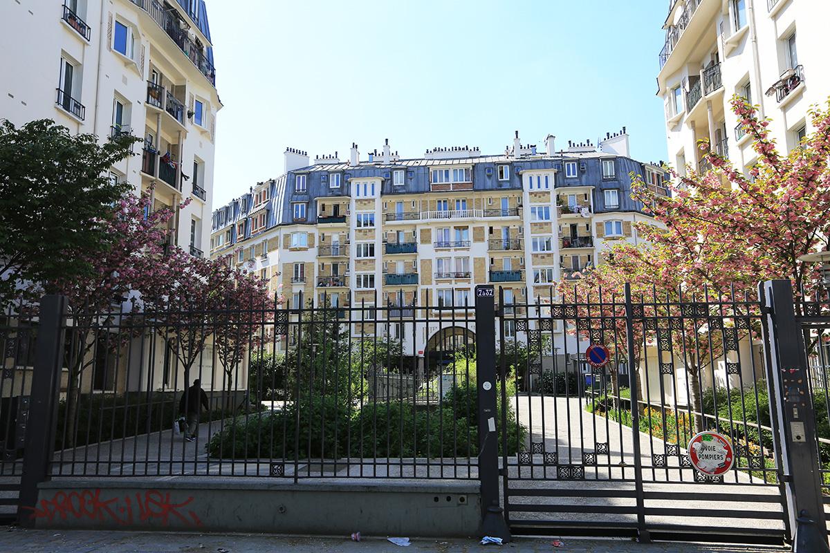 Porte de Clignancourt Croisset 18e
