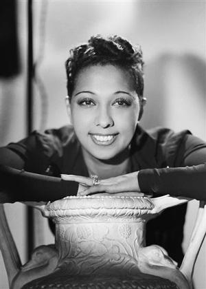 Portrait de Joséphine Baker en 1940
