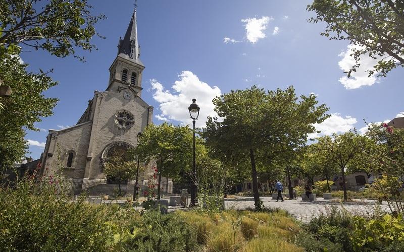 Photographie de la place Jeanne d'Arc