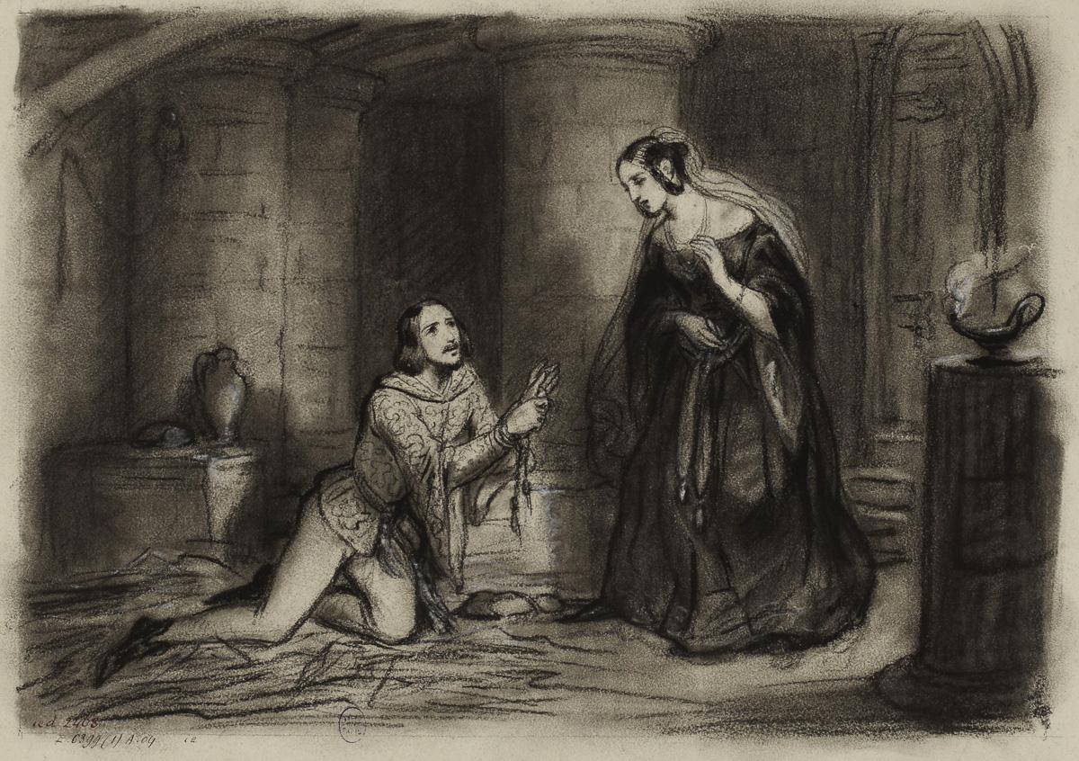 Illustration pour la Tour de Nesle : le caveau du Grand Châtelet