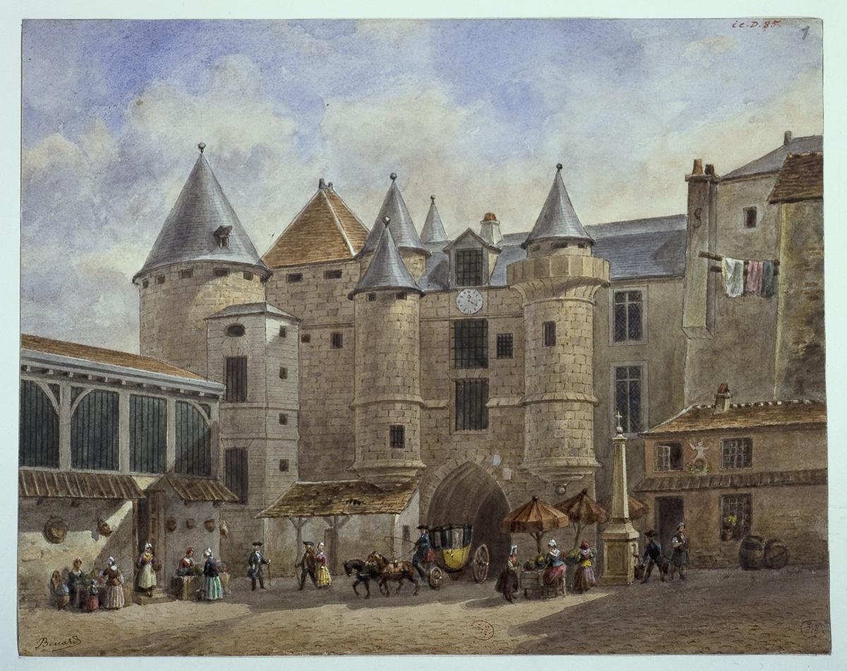 Le Grand Châtelet du XVIIIème siècle.