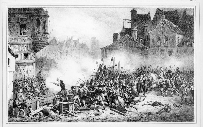 Les barricades / 12 mai 1588. / N°8.