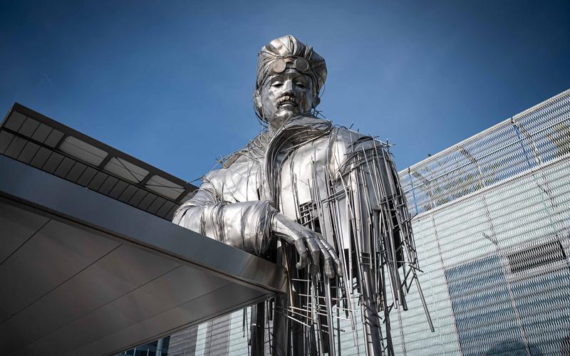 Sculpture Roland Garros