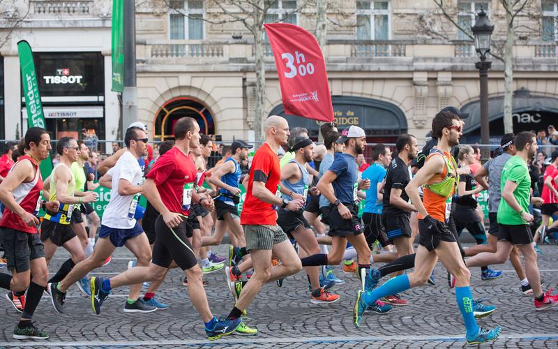 Marathon de Paris .