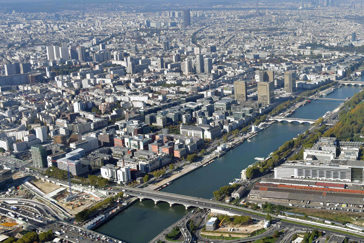 Paris Rive Gauche 13e