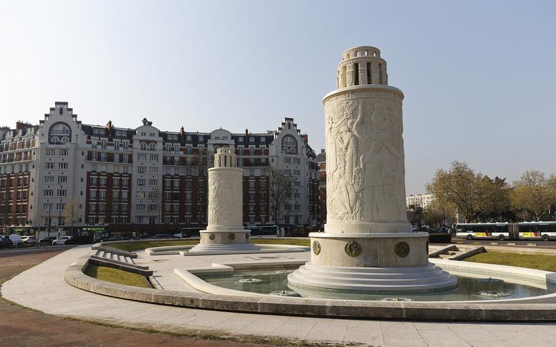 Fontaines de la Porte de Saint-Cloud 16e