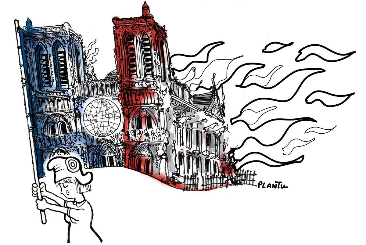Notre-Dame selon Plantu