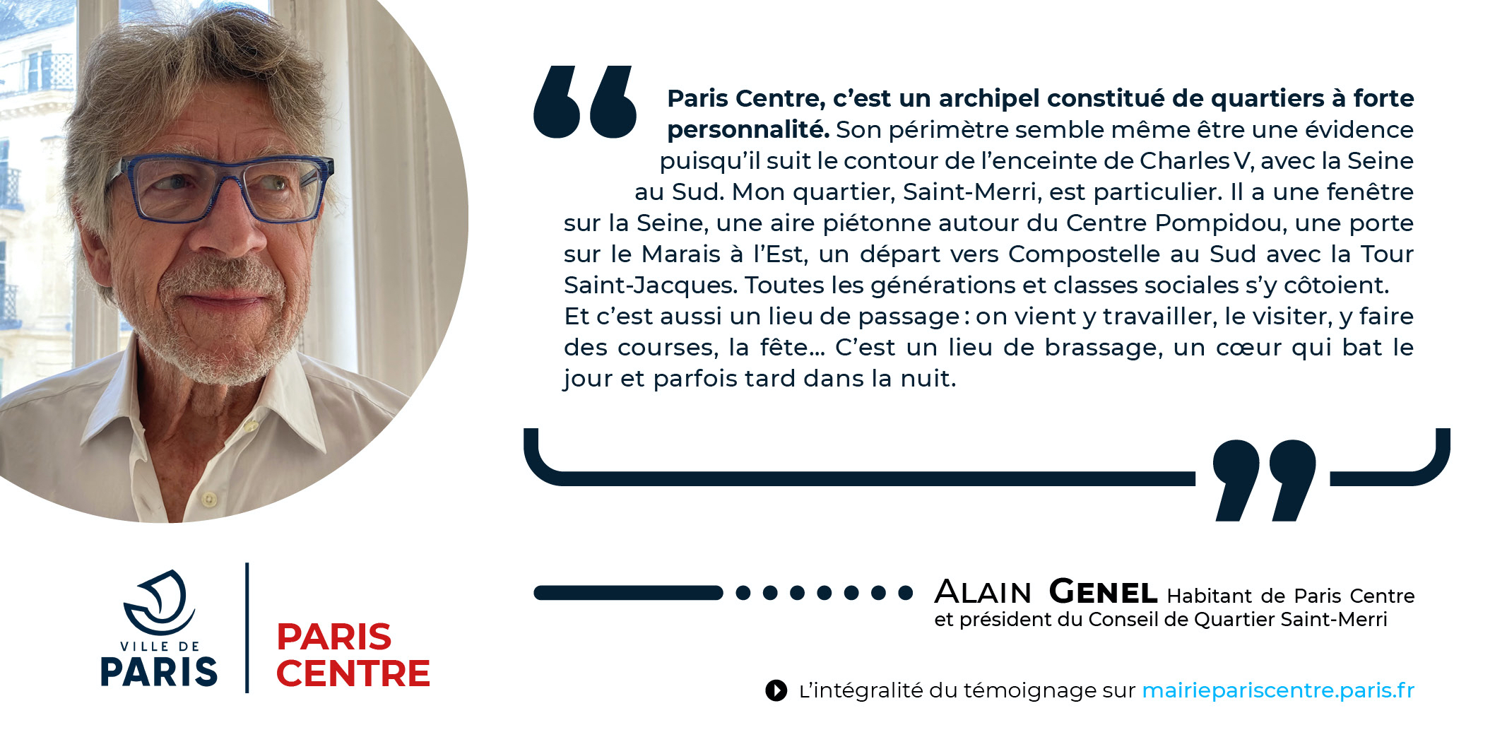 Témoignage - Alain Genel