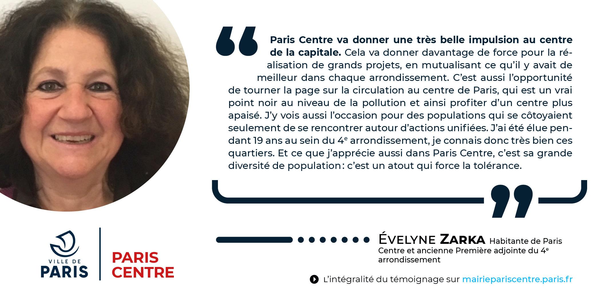 Témoignage - Evelyne Zarka
