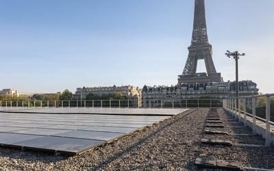 Centre solaire sur le toit du gymnase Emile-Anthoine dans le cadre du Budget participatif