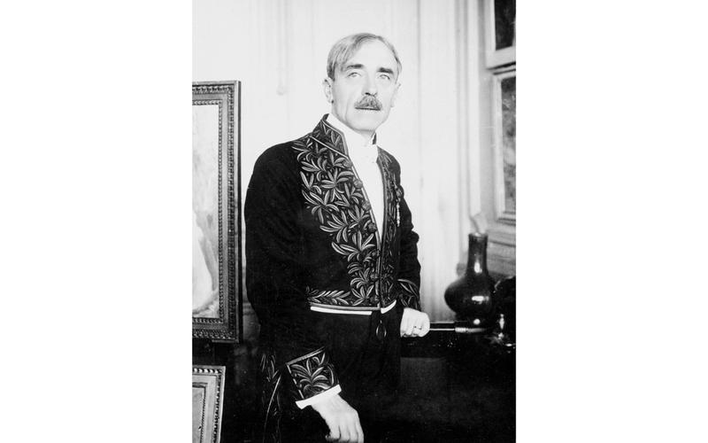 Paul Valéry (1871-1945), écrivain français.