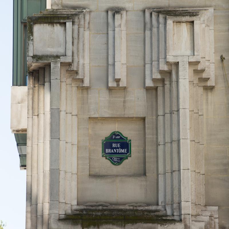 Rue Brantôme, 75003
