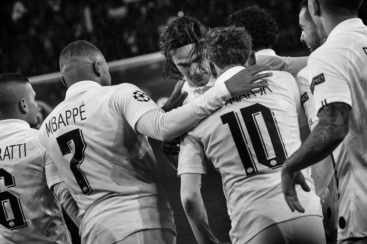 PSG-Club Bruges 4eme journée Ligue des champions