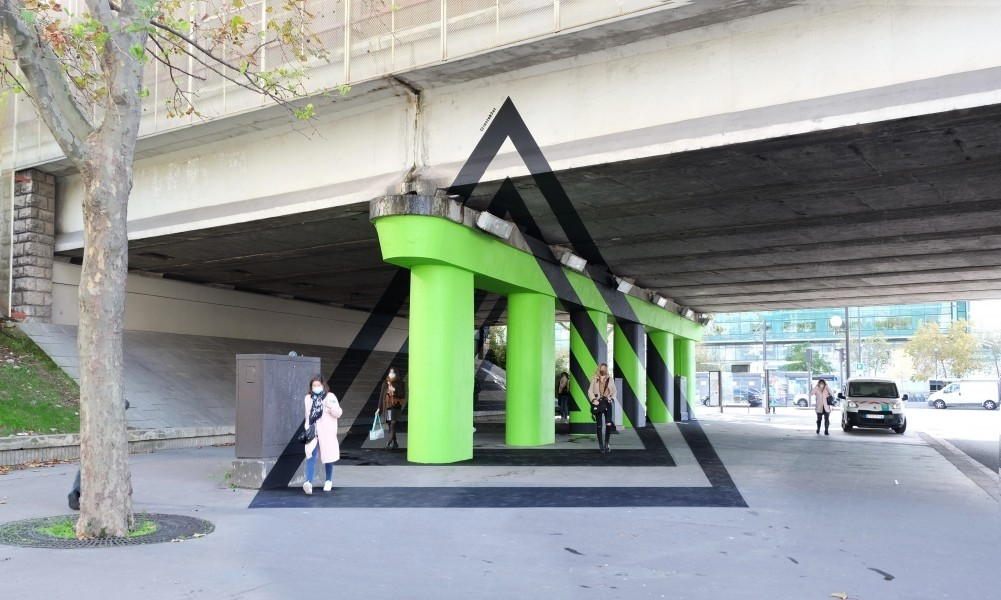 Embellir Paris : Le toit B3AT et Oftrak architectes