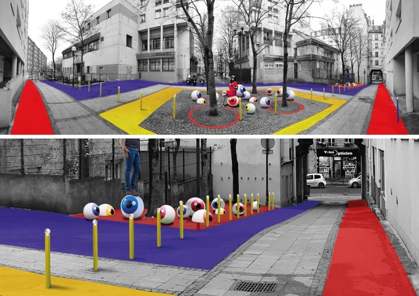 Embellir Paris : Colory Street Le CyKlop